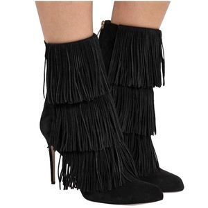 Authentic Paul Andrew Fringe Boots